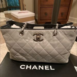 Chanel  LT Gray/Black